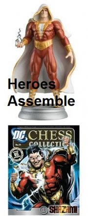DC Chess Figurine Collection #51 Shazam Justice League Eaglemoss
